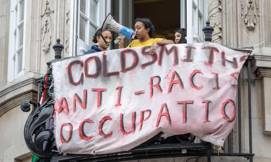 Goldsmiths anti-racism protest