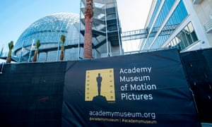 View of the Academy Museum in Los Angeles, California.
