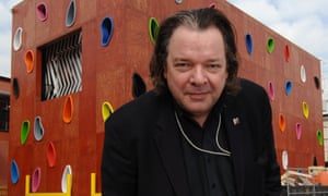 'Fun should be taken seriously, it's not a trivial thing' … architect Will Alsop in front of one of his buildings in Toronto in 2006.