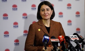 NSW Premier Gladys Berejiklian speaks to the media during a press conference in Sydney, Friday, 8 May 2020.