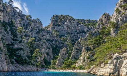Rock on … the calanque de Sugiton, near Cassis.