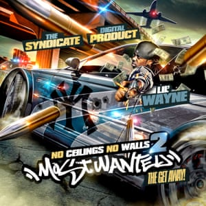 Lil Wayne, The Syndicate Digital Product – No Ceilings No Walls 2, Most Wanted, The Get Away - Design by KidEight
