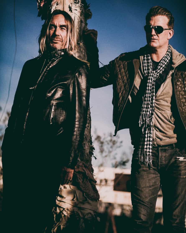 Iggy Pop and Josh Homme.