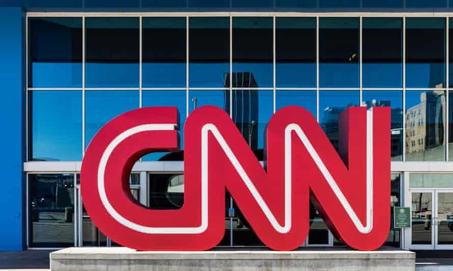 Brandon Griesemer allegedly called the network's HQ in Atlanta, above, threatening its staff and making racist remarks.