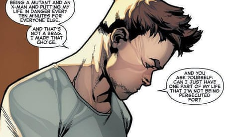 How Marvel's Iceman superhero urged me to come out