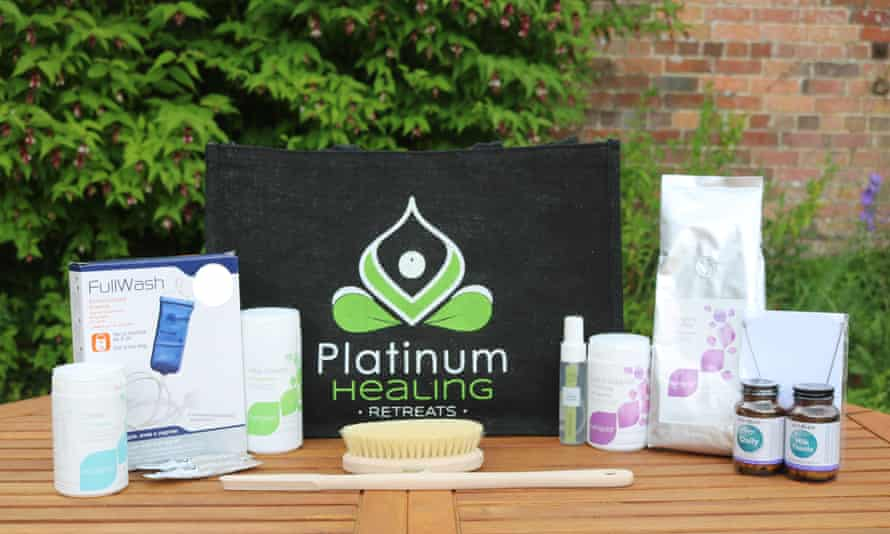A home detox box, from Platinum Healing