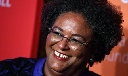 Mia Mottley, prime minister of Barbados