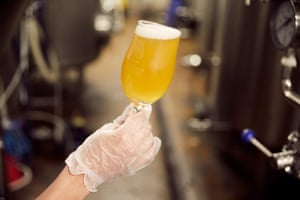 'We work quite hard here to ensure the team are all trained so we can all pick up on problems within the beer. A lot of experience and training go into it. It's important that we all make an active effort to be learn to pick up on off flavours but also positive flavours so we always know if a batch is tasting as it should do'