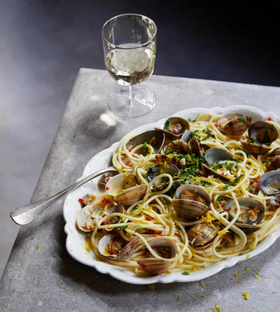 Fish is traditional on Christmas Eve – how about Felicity Cloake's spaghetti alle vongole?