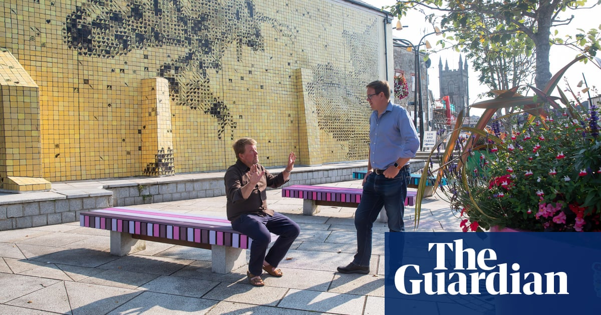 'This place is on the move': how artists are reviving Cornwall's St Austell