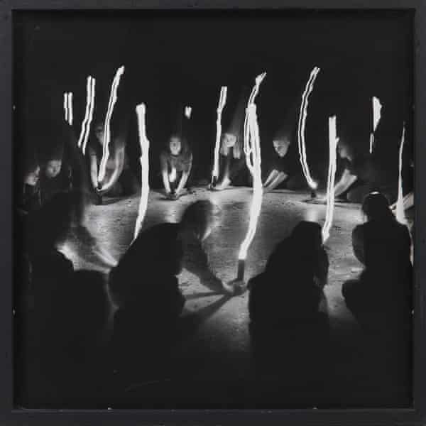 Ritual, an undated work by Mary Beth Edelson.