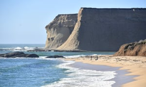 Martin's Beach in Half Moon Bay. California mandates all beached be accessible to the public.