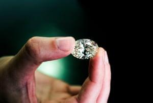 A million pound diamond stone.
