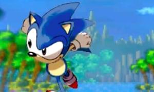 'A retro gamer's dream': the original Sonic in Sega 3D Classics Collection.