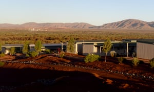 Accommodation for Rio Tinto staff in the Pilbara region of Western Australia