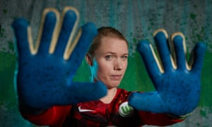 Hard to beat: Hedvig Lindahl.