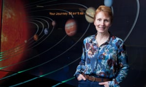 Final frontier: Helen Sharman, Britain's first astronaut.
