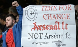 Still no sentiment in the stands, with this banner displayed by the Arsenal fans.