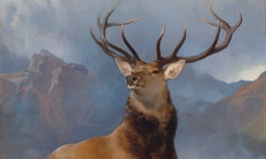 Detail from The Monarch of the Glen by Sir Edwin Landseer. Photograph: Christies