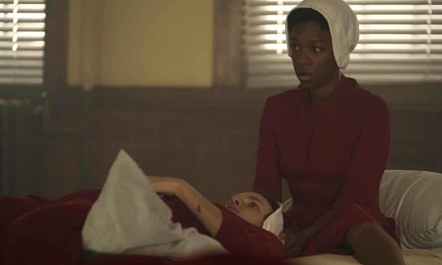 Heartbreakingly believable ... Samira Wiley as Moira.