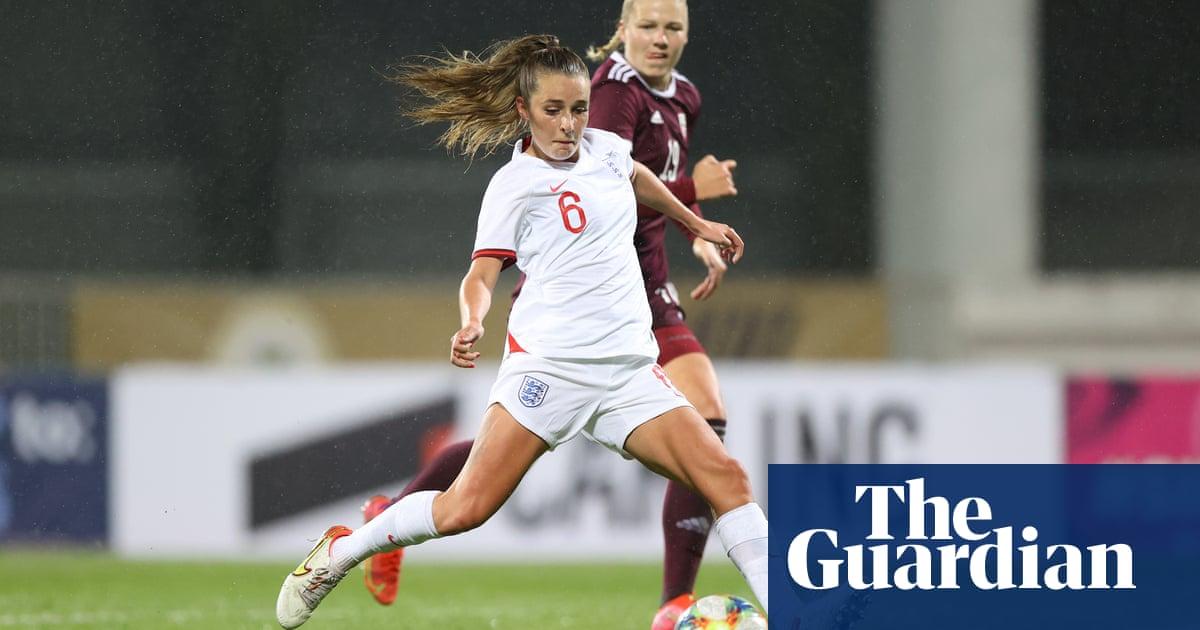 Ella Toone hits hat-trick as England score perfect 10 against Latvia