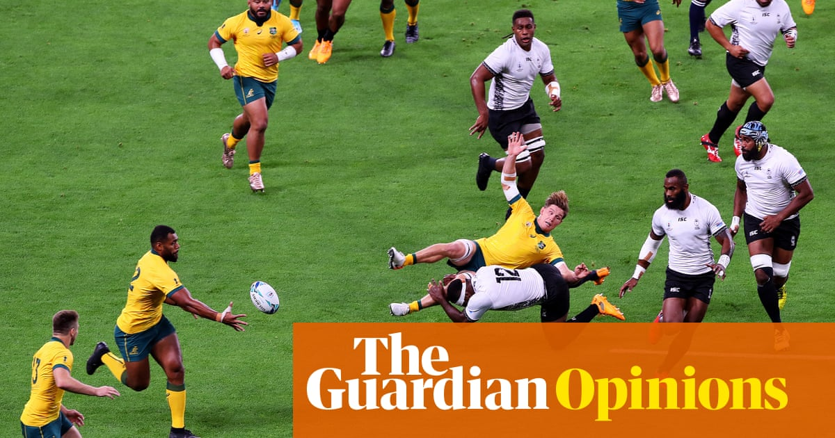 Dizzying Rugby World Cup opening leaves referees and players in a spin