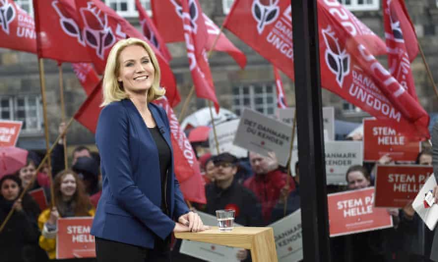 Danish Prime Minister Helle Thorning-Schmidt. Denmark goes to the polls on Thursday.