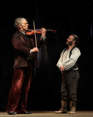 James Thierrée with Yann Nédélec in The Toad Knew.