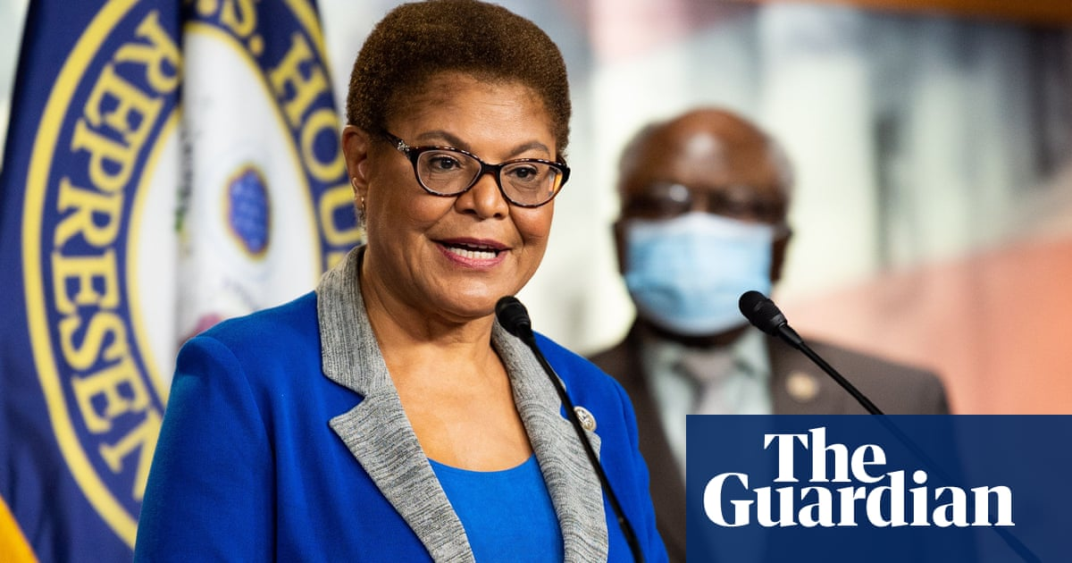 Karen Bass: the progressive congresswoman who could be Biden