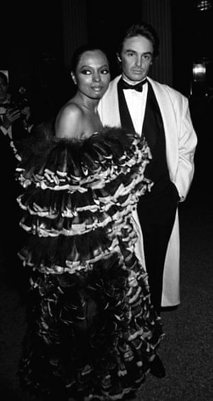More feathers in 1981, this time from Diana Ross, who attended the Eighteenth Century Woman-themed gala (back when the event usually took place in December, not the first Monday in May).
