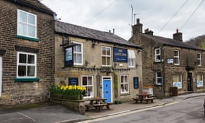The Goyt Inn, a local pub on Bridge Street, Whaley Bridge, Derbyshire, UK.