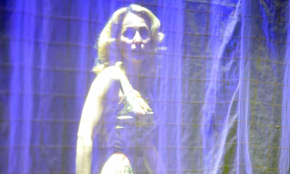 Gillian Anderson as Blanche DuBois in Tennessee Williams's A Streetcar Named Desire, which is due to be streamed by the National Theatre.