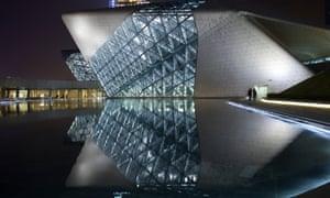 Zaha Hadid's Guangzhou Opera House.