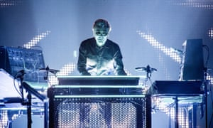 Jean-Michel Jarre at the Barclaycard Arena this month