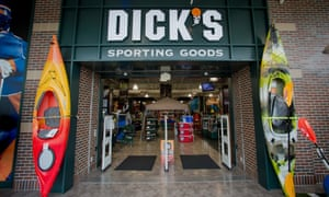 Pennsylvania-based Dick's sells weapons through its Dick's Sporting Goods and Field & Stream stores.