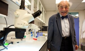 Heinz Wolff at Brunel University, Uxbridge, in 2010. 'I can't remember a time when I wasn't convinced I would do something with science, technology or engineering,' he once said.