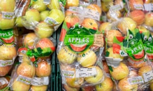 Bags of fresh produce will have clear labels advising which items can be kept in the fridge to last longer.