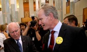 Ross Cameron with John Howard