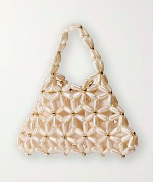 Pearl bag, £390, Vanina, net-a-porter.com