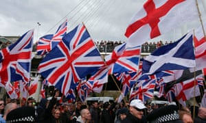 Britain First and English Defence League rally