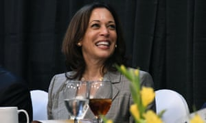 Democratic presidential candidate Kamala Harris before giving a keynote address at an NAACP event in West Columbia, South Carolina.
