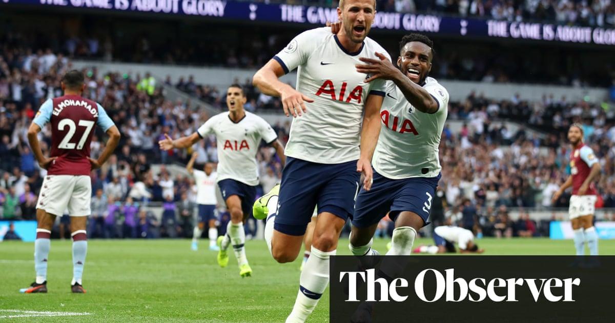 Harry Kane's late double takes Spurs past resurgent Aston Villa