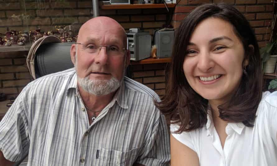 Mevan Babakar met her former aid worker Egbert