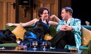 Not a seaside farce … Lucy Briggs Owen as Joanna Lyppiatt with Hound as Garry.