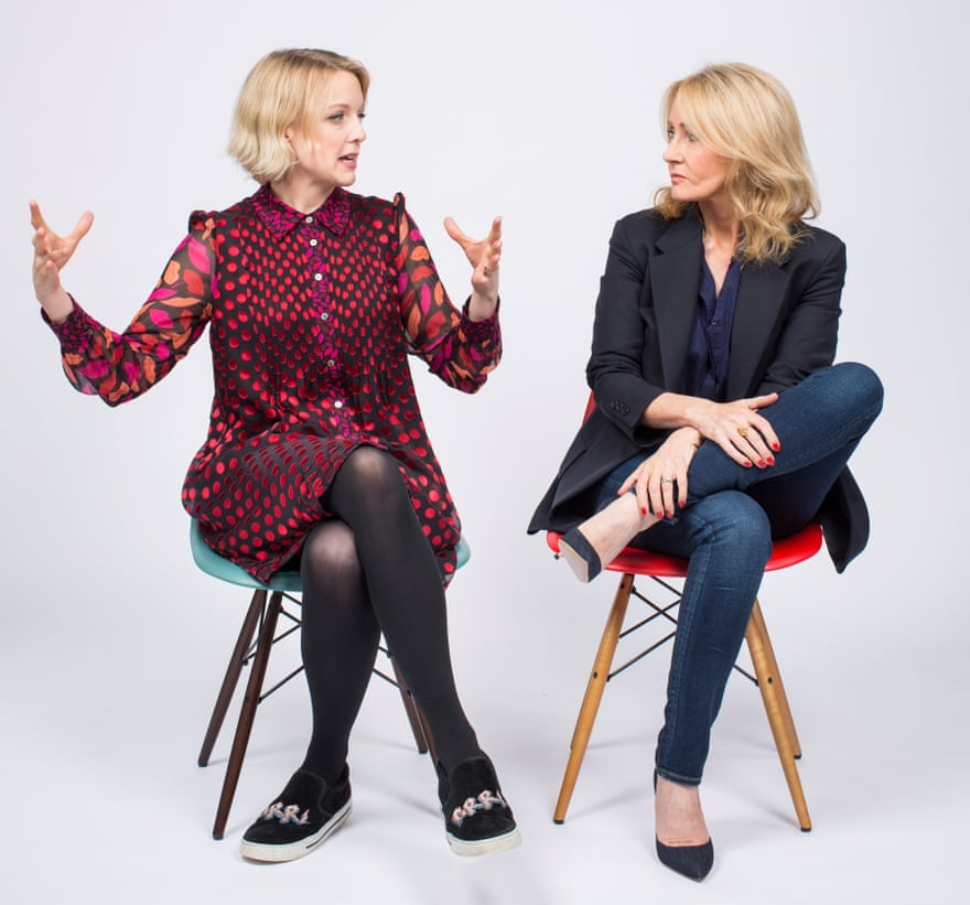 JK Rowling meets Lauren Laverne :   Success never feels the way you think it will,