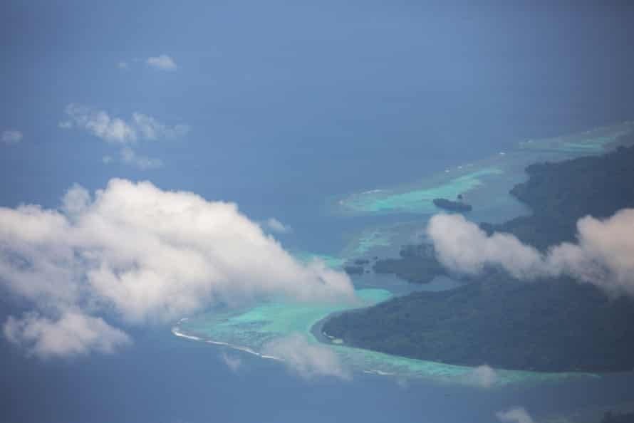 Manus Island from above
