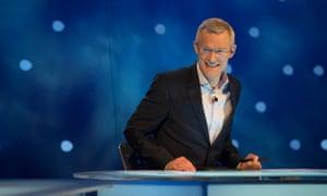 Jeremy Vine presenting the BBC show Eggheads
