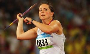 Goldie Sayers, 2008 Olympics, Beijing