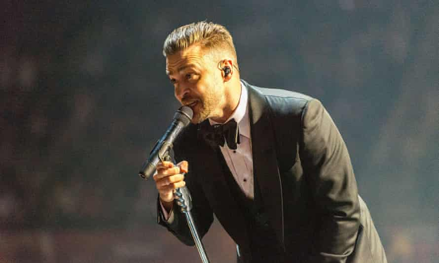 Justin Timberlake will perform Can't Stop the Feeling at the camp spectacle in Stockholm on Saturday.