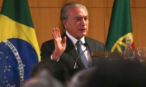 Michel Temer, who aims to replace Dilma Rousseff.